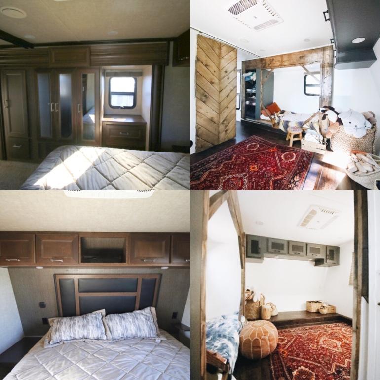 Toyhauler Renovation-Master Bedroom Turned Toddler Room
